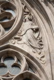 Budapest -  Detail of angel - st. Matthew church Stock Image