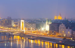 Budapest detail at night Stock Photography