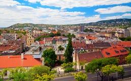 Budapest, district résidentiel photo libre de droits