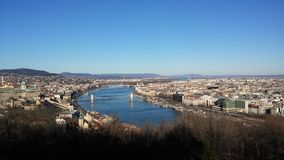 Budapest Donau Stockfotografie