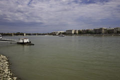Budapest with the Donau river Stock Images