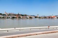 Budapest Donau Ungarn Lizenzfreies Stockfoto