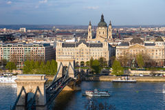 Budapest Downtown Royalty Free Stock Photos