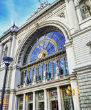 Budapest drevstation arkivbilder