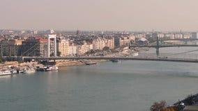 Budapest ed il Danubio archivi video