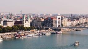 Budapest ed il Danubio video d archivio