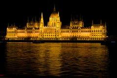 Budapest - el parlamento Fotos de archivo