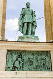 Budapest. Element of the Millenary Monument Royalty Free Stock Photos