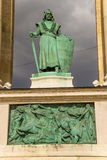 Budapest. Element of the Millenary Monument Royalty Free Stock Images