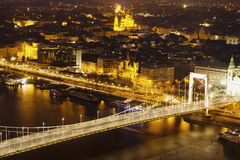 Budapest. Elisabeth Bridge in Budapest, Hungary Royalty Free Stock Images