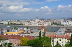 Budapest en mayo de 2015 Fotografía de archivo