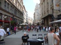 Budapest en verano Imagen de archivo libre de regalías