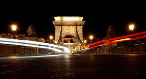 Budapest entro la notte Immagine Stock Libera da Diritti