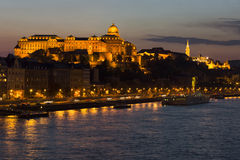 Budapest in the evening Royalty Free Stock Photo