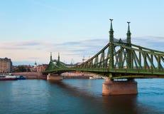 Budapest evening view Stock Photos