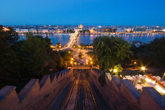 Budapest in the evening Stock Photography