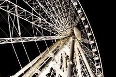 Budapest Eye. 31 december 2015, Sziges Eye - ferris wheel, Hungary in the Night Royalty Free Stock Image