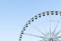 Budapest Eye - ferris wheel in Budapest, Hungary stock photo