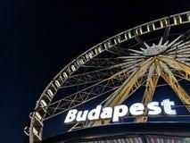 Budapest eye royalty free stock photography