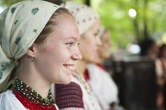 Budapest för festival för Sziget sommarmusik Ungern Arkivfoton