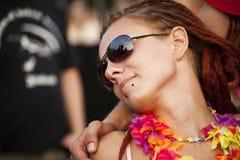 Budapest för festival för Sziget sommarmusik Ungern Royaltyfria Foton