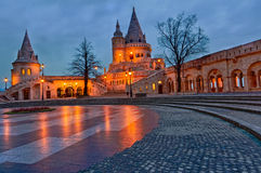 Budapest Fihsermen's Bastion at Stock Image