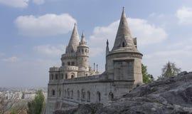 Budapest-Fischer Bastion Stockfotos