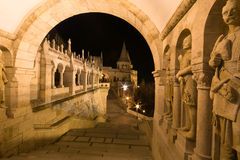 Budapest Fisherman Bastion Stock Photos