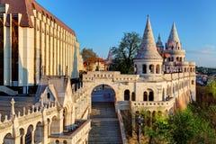 Budapest - Fisherman bastion at sunrise royalty free stock images