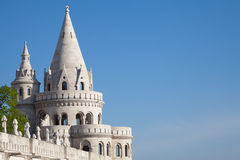 Budapest Fisherman's Bastion Stock Photos