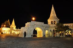 Budapest, fishermans bastion Stock Photos