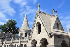 Budapest Fishermans Bastion Royalty Free Stock Photos