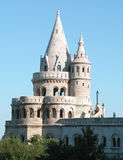 Budapest, Fishermen's Bastion. Fishermen's Bastion is one of the most famous landmarks of Budapest Royalty Free Stock Image