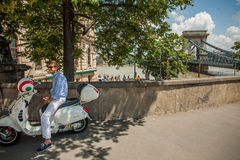 Budapest floder Royaltyfri Fotografi