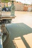 Budapest floods Royalty Free Stock Image