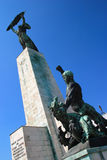 Budapest freedom monument Stock Photos