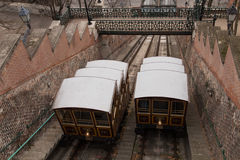Budapest funicular Stock Photography