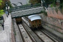 Budapest funikulär Stockfotos