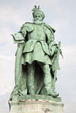 Budapest -  Gabriel Bethlen statue from The Millennium Monument Stock Image