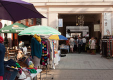 Budapest, Gouba Art Market Royalty Free Stock Photos