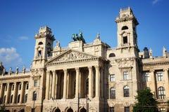 Budapest gränsmärke arkivbild