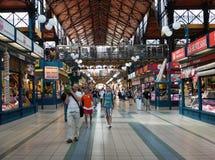 Budapest, Great Market Hall Royalty Free Stock Photos