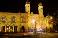 Budapest. Great Synagogue. Stock Images