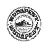 Budapest grunge rubber stamp Royalty Free Stock Image