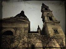 Budapest hanté Photos stock