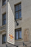 Budapest Hard Rock Cafe building facade, Hungary. Royalty Free Stock Photos