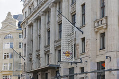 Budapest Hard Rock Cafe building facade, Hungary. Royalty Free Stock Images