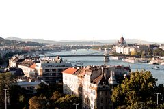 Budapest - Hauptansicht lizenzfreie stockbilder