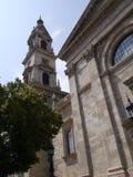 Budapest helgon Stephen Basilica 1 fotografering för bildbyråer