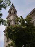 Budapest helgon Stephen Basilica 2 royaltyfri bild